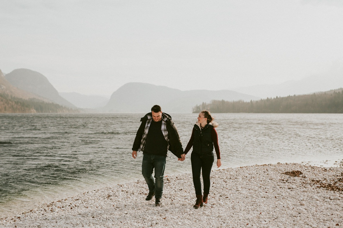 Engagement P&B - Lake Bohinj 25