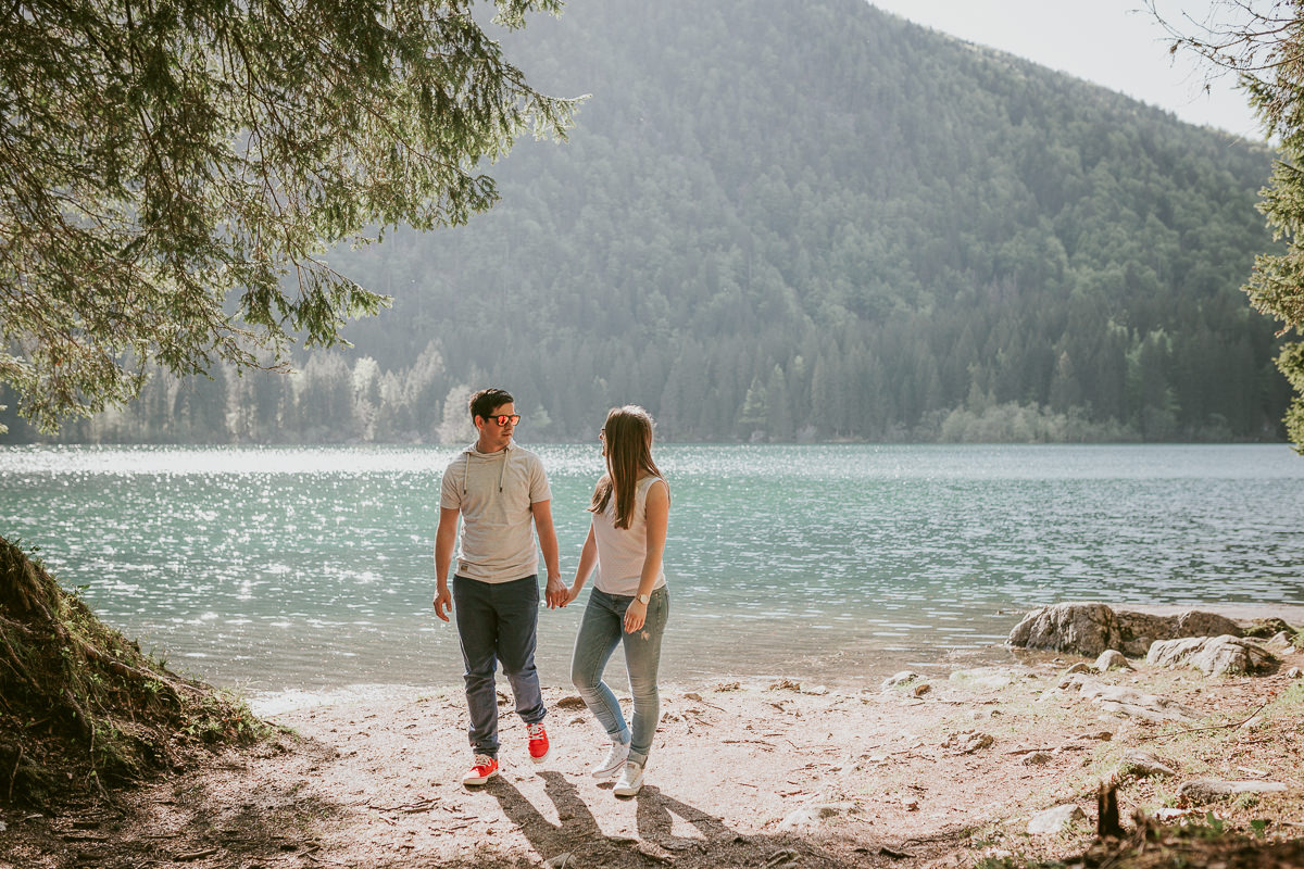 Engagement J&F - Lake Laghi di Fusine and Zelenci 33