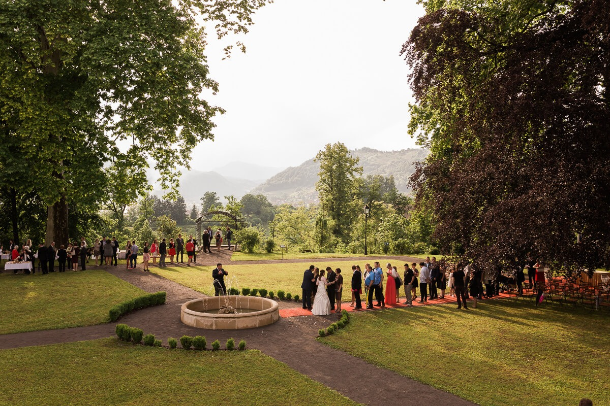 Wedding P&B - Castle Sevnica 105
